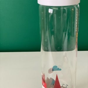 Starbucks 'You are here' collection Glass Bottle